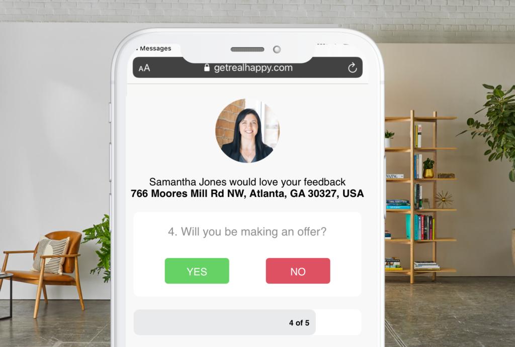 is buyer making an offer screenshot